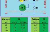Cargador de batería de Ni-Cd simple