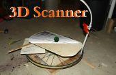 Hacer un escáner 3D de un teléfono celular y una rueda de bicicleta
