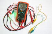 Multímetro con retroiluminación LCD Mod