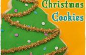 Galletas decoradas de Navidad: Árboles de Navidad