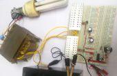 Cómo para construir 100 watt 12v DC a 220v AC inversor circuito usando EasyEDA