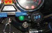 Voltímetro de la motocicleta
