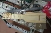 Ukelele de bolsillo - ukelele de Sopranino hecha en casa de madera