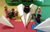 Cómo hacer aviones de papel