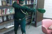 Traje de flecha verde