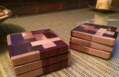 Posavasos madera las complicaciones Mat (chatarra de madera)