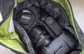 Organizarse con una entrada personalizada barata para su bolsa de la cámara