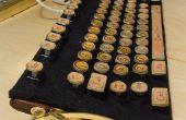 Barato y fácil de hacer teclados Steampunk