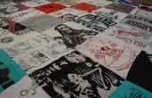 Hacer un tejido de su viejas camisetas