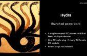 El cable de alimentación de la HYDRA