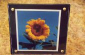Cómo reciclar cajas de CD en foto montajes joya