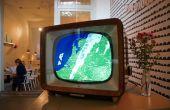 Ombrovision: vintage tv convertido en alarma clima lluvioso