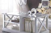 Simple elegante mesa de centro