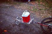 Bicicleta Trailer DIY barco remolque etiqueta a lo largo de remolque Buddy Trailer multiusos