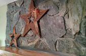 Cómo hacer una estrella de madera con un 2 x 4 de 24 pulgadas
