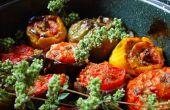 Relleno de tomates y pimientos - Gemista