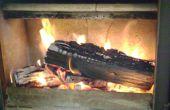 Como encender una estufa de leña