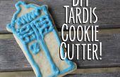 Tardis Cookie Cutter bricolaje--y galletitas!