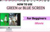 Una guía de uso iMovie Software + cómo utilizar pantalla verde/azul Tutorial para mejorar tu look Videos