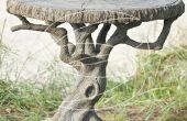 Árbol mesa de hormigón