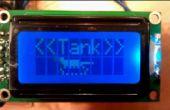 Arduino texto animación de LCD