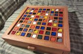 Tablero de Sudoku de madera base de color