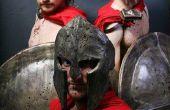 Vestuario: Espartanos de 300 y máximo desde donde el salvaje cosas