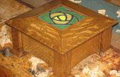 Aplicar una auténtica artesanía acabado roble dura sólida
