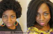 Cómo a Saran Wrap conjunto rodillo para alisar el cabello Natural