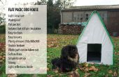 Paquete plano: Dog House (pequeña-mediana)