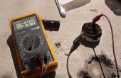 Poder de aluminio, agua salada y carbón de leña de la batería