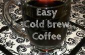 Fácil frío elaborado cerveza café