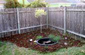 CREAR un pequeño SOLAR POWERED jardín y estanque para alrededor $100