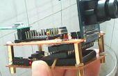 """DIY STC MCU combinada pequeña cámara inalámbrica con OV7670, módulo de transceptor inalámbrico NRF24L01, 2,8"""" TFT LCD (proporcionar código)"""