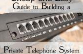 Barata y fácil guía para la construcción de un sistema de teléfono privado