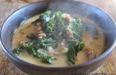 ¿Olive Garden estilo Zuppa Toscana sopa