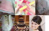 Consejos de boda DIY libro planificador - invitación - caja del Favor - zapatos - torta - Hairbump -