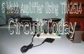6 vatios amplificador usando TDA2614