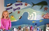 """MODO fácil: """"Ponyo"""" Mural de la pared"""