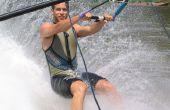 Aprender cómo esquí acuático descalzo