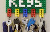 Sostenedor dominante de LEGO y Clip de notas