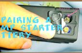 Cómo reparar una batería de arranque de litio salto.