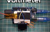 Prototipo de Arduino voltímetro