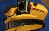Conduce una excavadora de juguete luminoso nuevo con un Edison de Intel