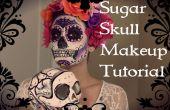 Tutorial de maquillaje de calavera de azúcar