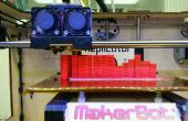 Horizontes impresos 3D basado en entrada de música