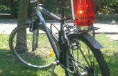Luz trasera - un grande de la bicicleta