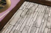 Espuma sintética fachadas: Madera planchas y paredes de piedra