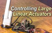 Controlar un actuador lineal grande con Arduino