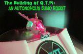 El edificio de Q.T.Pi: un Robot de Sumo autónomo